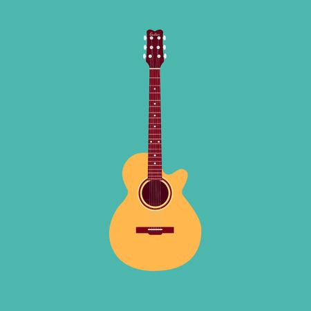 guitarra acustica: Guitarra acústica clásica.