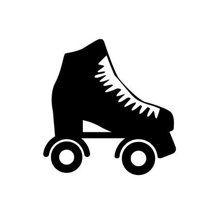 roller skates: Roller skate.