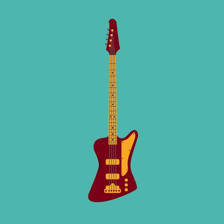 bass: Bass guitar.