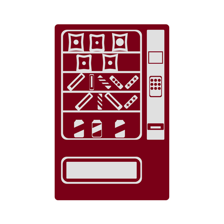 vending machine: Vending machine icon. Vector illustration.