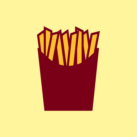 fry: Fast food icon - French fries