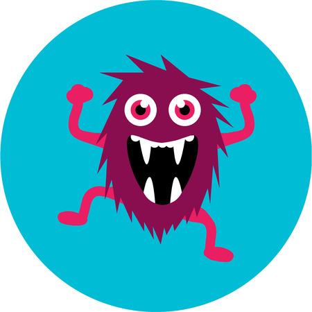 beast: cartoon cute monster alien