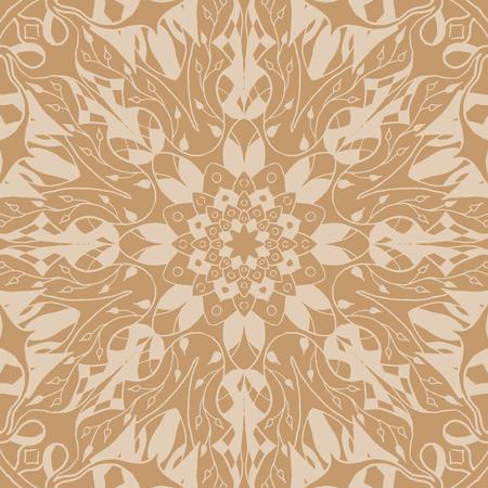 mandala: Mandala seamless pattern.