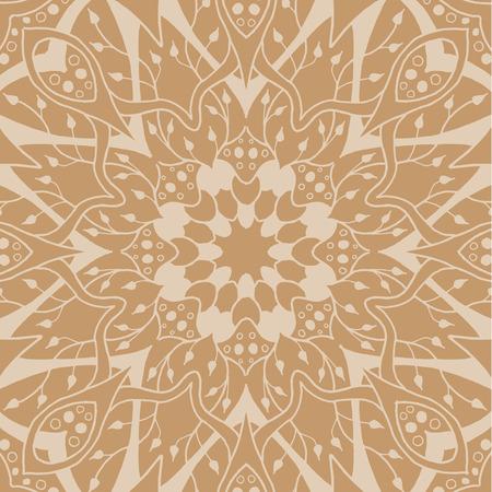 Mandala seamless pattern.