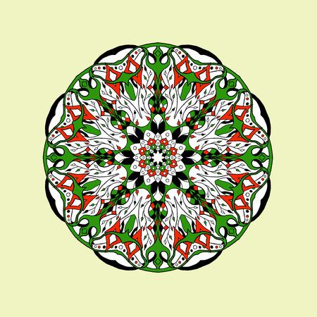 national: Mandala sin patrón. Ornamento floral decorativo abstracto étnica. Dibujado a mano de fondo. , Árabe, indio, tribal, motivo africano islámico. Textura de fondo para su diseño y los negocios.