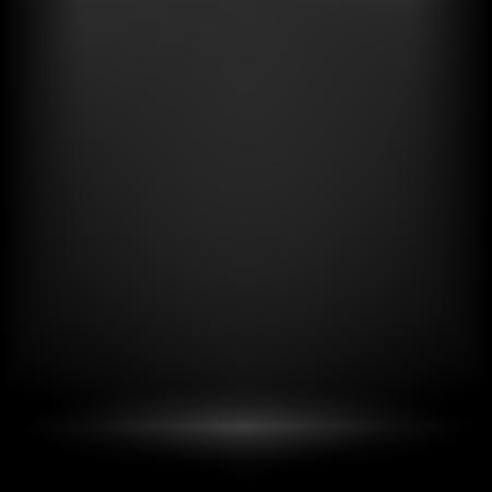 Abstracte verloop achtergrond. Zwart wit vervaagde het podium, schijnwerpers. Theater studio, scène verlichting. Magic, helder, transparant verloop lichteffecten. Vector illustratie voor uw ontwerp en het bedrijfsleven.