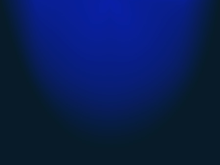Abstract gradient background. Blue faded stage, spotlights. Theater studio, scene illumination. Magic, bright, transparent gradient light effects. Vector illustration for your design and business.