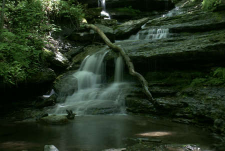 Water Falls Stockfoto