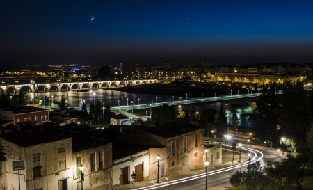 badajoz: View from the castle of the city of Badajoz