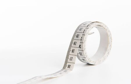 metre: Metre isolated in a white background