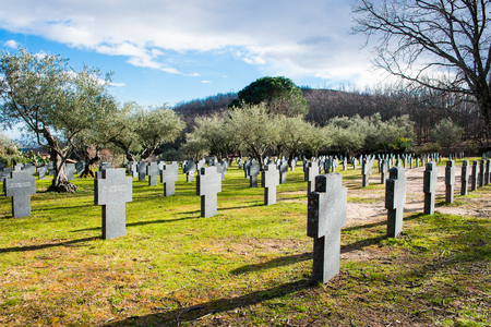 military cemetery: German military cemetery, Yuste, Caceres