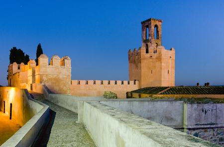 badajoz: The Albarran towers of the Arab Citadel and one of the most characteristic symbols of Badajoz, as well as a great milestone in architecture.