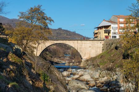 Cabezuela del Valle, Extremadura, Spain. Stock Photo