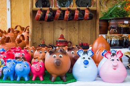 Adorable Ceramic Piggy Banks Hand Painted.