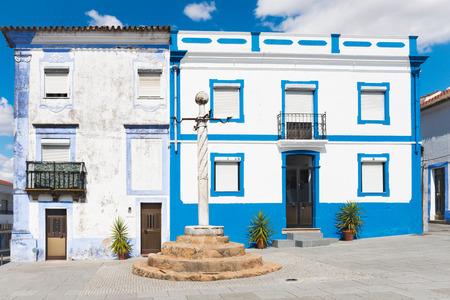law of portugal: Pillory (Pelourinho) column in Arraiolos, Portugal.