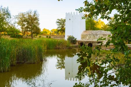 Watermill in Alcala de Guadaira Фото со стока