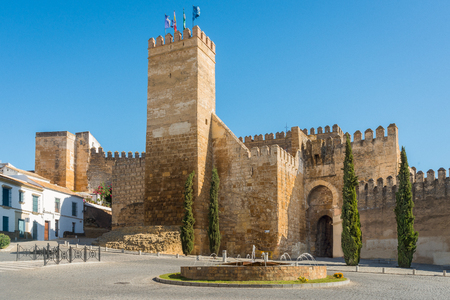 Seville gate and tower in Carmona, Seville