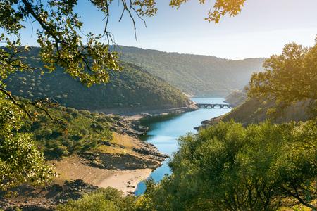 Landscape in Monfrague park, Extremadura, Spain