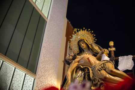 Our Lady of Piety in Holy Week