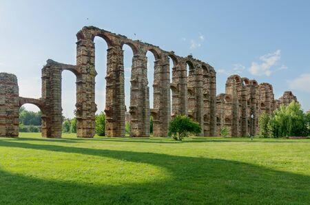 Aqueduct of the Miracles, Merida, Extremadura, Spain