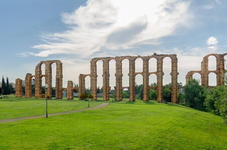 Aqueduct of the Miracles, Merida, Extremadura, Spain