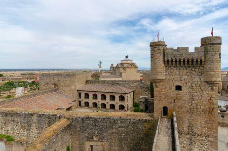 medieval castle in Oropesa. Toledo. Spain Stock fotó