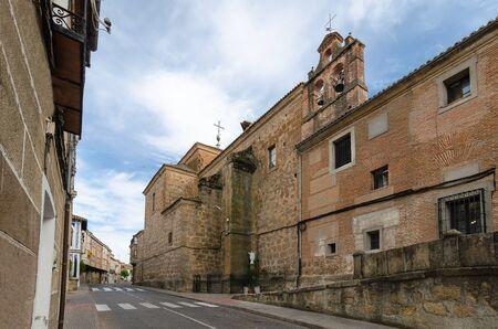 Old street of Oropesa, Castilla la Mancha, Spain