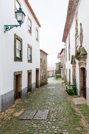 Old street in village of Monsanto, Portugal