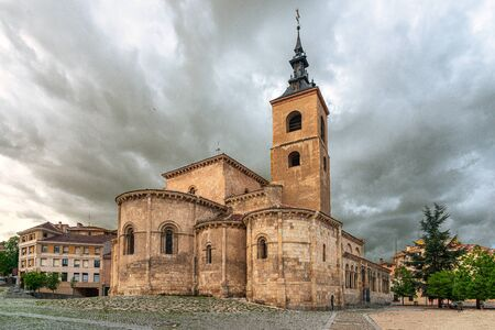 San Millan Church in Segovia, Castilla y Leon, Spain