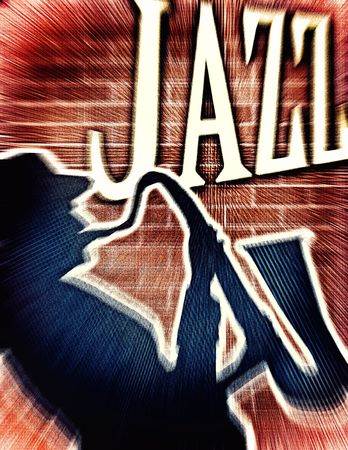 Creative jazz background for your art-design.