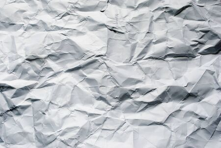 Big crumpled paper background for art design. photo