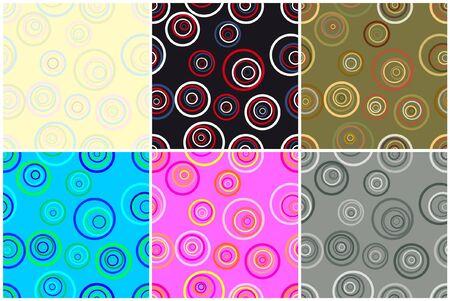 Seamless vector background kit for art design. Stock Vector - 9934771