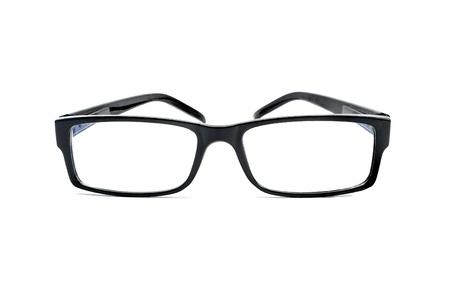 eyeglass frame: Eyeglasses isolated on white.