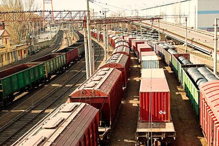 ODESSA, UKRAINE - MARCH 16: The developed infrastructure near the seaport in Odessa on March 16, 2012 in Odessa, Ukraine. One of the most important trade ports of Ukraine. Stock Photo - 12818689