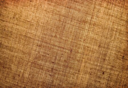 diagonally: Rough texture of linen cloth with a pattern of diagonally.