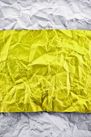 Creative crumpled paper background for art design. photo