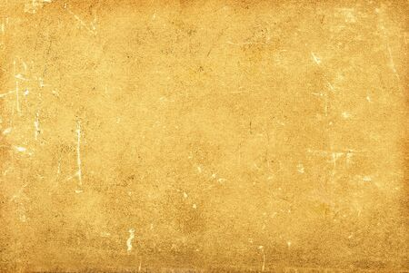 Closeup of yellow grungy scratched texture. Stock Photo - 16114303