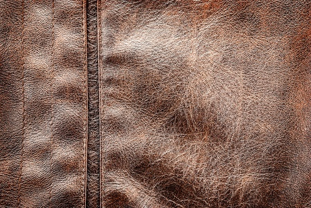 Closeup of leather texture with seams and juncture. Stock Photo - 17639744