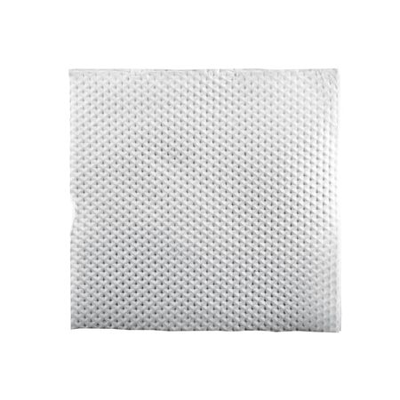 Square simple napkin, isolated on white