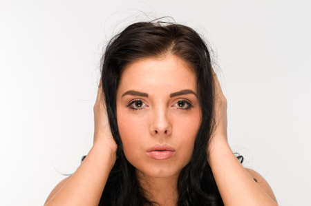 exempted female: hands at the black hairs