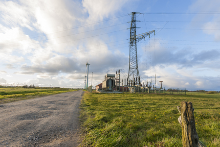 turn about: Power of East Frisia Stock Photo