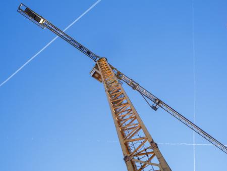 Tower crane graphic