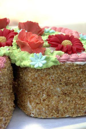 to cake layer: layer cake Archivio Fotografico