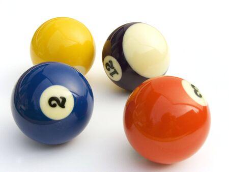 cue sticks: billiards  Stock Photo