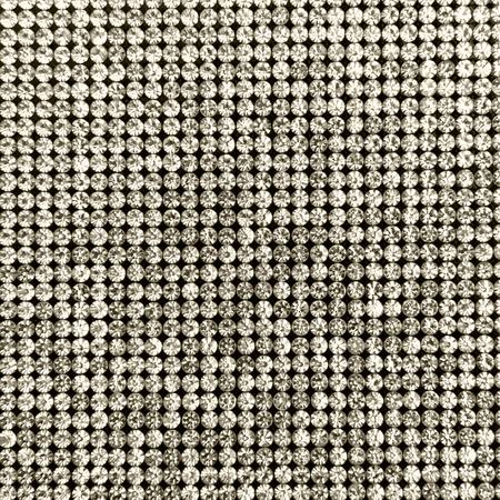 Canvas of crystal rhinestones. Background toning Stock Photo
