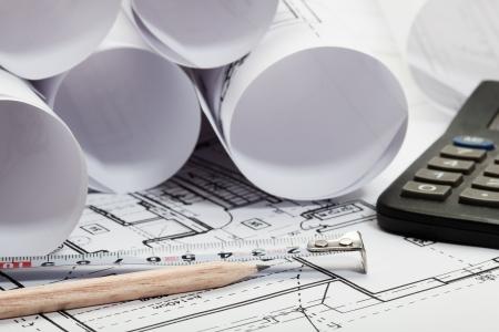 Architecture blueprints, Selective focus