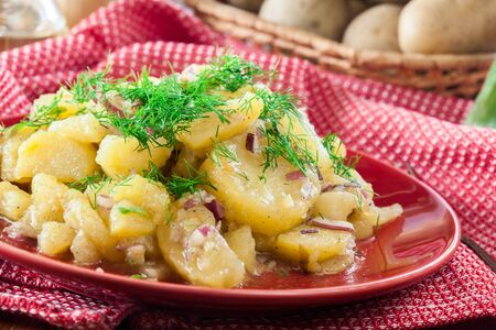 Kartoffelsalat - traditional German potato salad