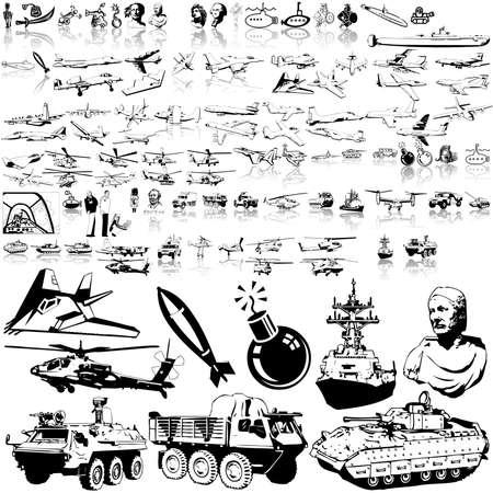 aerei: Esercito insieme. Parte 6. Livelli e gruppi isolati.