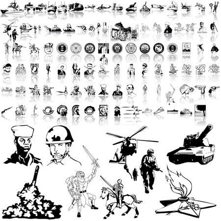 Conjunto del ejército. Parte 7. Capas y grupos aislados.