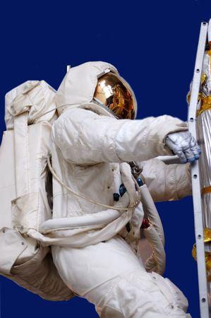 space suit: Astronaut in space suit